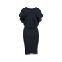Authentic Second Hand Donna Karan Knitted Black Dress (PSS-145-00232) - Thumbnail 1