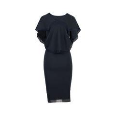 Donna karan knitted black dress black 2?1537887886