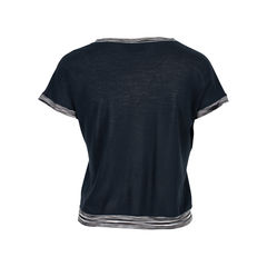 Missoni black short sleeve top 2?1537888048