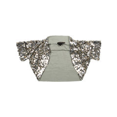 Sequined Knit Shrug