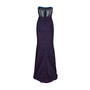 Authentic Second Hand Badgley Mischka Strapless Embroidered Gown (PSS-515-00051) - Thumbnail 1