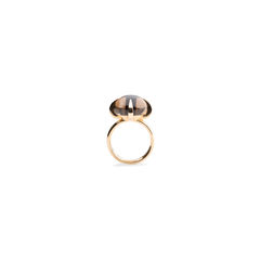 Veleno Smoky Quartz Ring