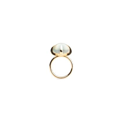Authentic Second Hand Pomellato Veleno Smoky Prehnite Ring (PSS-075-00088)