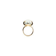 Veleno Smoky Prehnite Ring