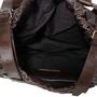 Authentic Second Hand Dries Van Noten Cognac Leather Drawstring Satchel (PSS-190-00073) - Thumbnail 4