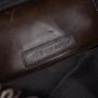 Authentic Second Hand Dries Van Noten Cognac Leather Drawstring Satchel (PSS-190-00073) - Thumbnail 5