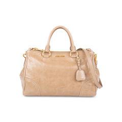 Cammeo Vitello Shine Leather Bag
