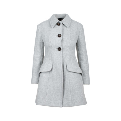 Authentic Second Hand Miu Miu Wool Car Coat (PSS-515-00050)