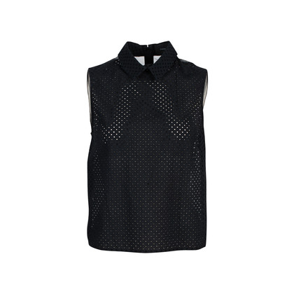 Authentic Second Hand Simone Rocha Mesh Back Top (PSS-145-00185)