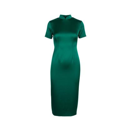 Authentic Second Hand Ong Shunmugam Midi Cheongsam Dress (PSS-075-00091)