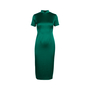 Authentic Second Hand Ong Shunmugam Midi Cheongsam Dress (PSS-075-00091) - Thumbnail 0