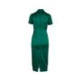 Authentic Second Hand Ong Shunmugam Midi Cheongsam Dress (PSS-075-00091) - Thumbnail 1