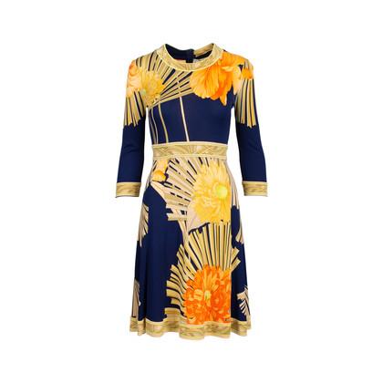 Authentic Second Hand Leonard Floral Print Dress (PSS-075-00095)