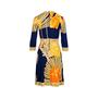 Authentic Second Hand Leonard Floral Print Dress (PSS-075-00095) - Thumbnail 1