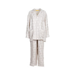 Embroidered Snake Pyjamas Set