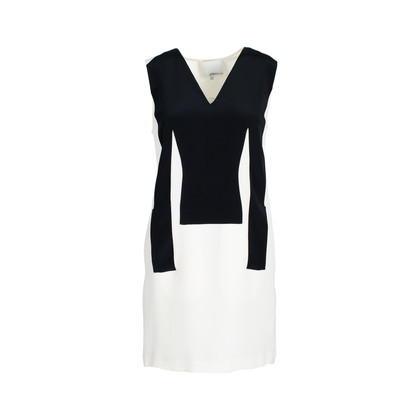 Authentic Second Hand 3.1 Phillip Lim Silk Sleeveless Black and White Dress (PSS-561-00019)