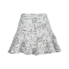 Derek lam 10 crosby cotton blend mini skirt 2?1537944647