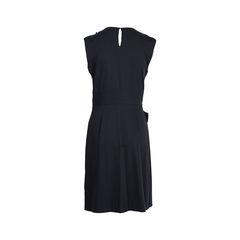 Diane von furstenburg black lotus sleeveless dress 2?1537945123
