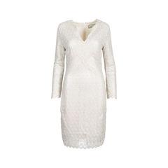 Dumaniah Silver Lace Dress