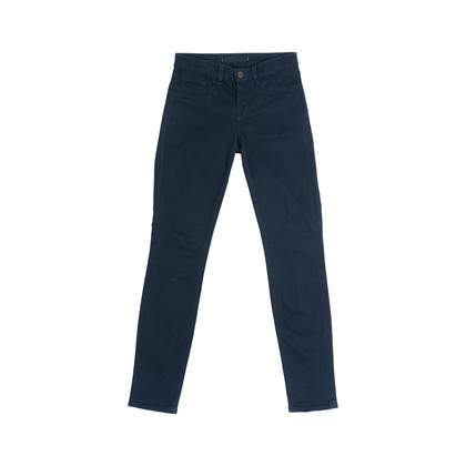 Authentic Second Hand J Brand Navy Skinny Leg Jeans (PSS-075-00094)