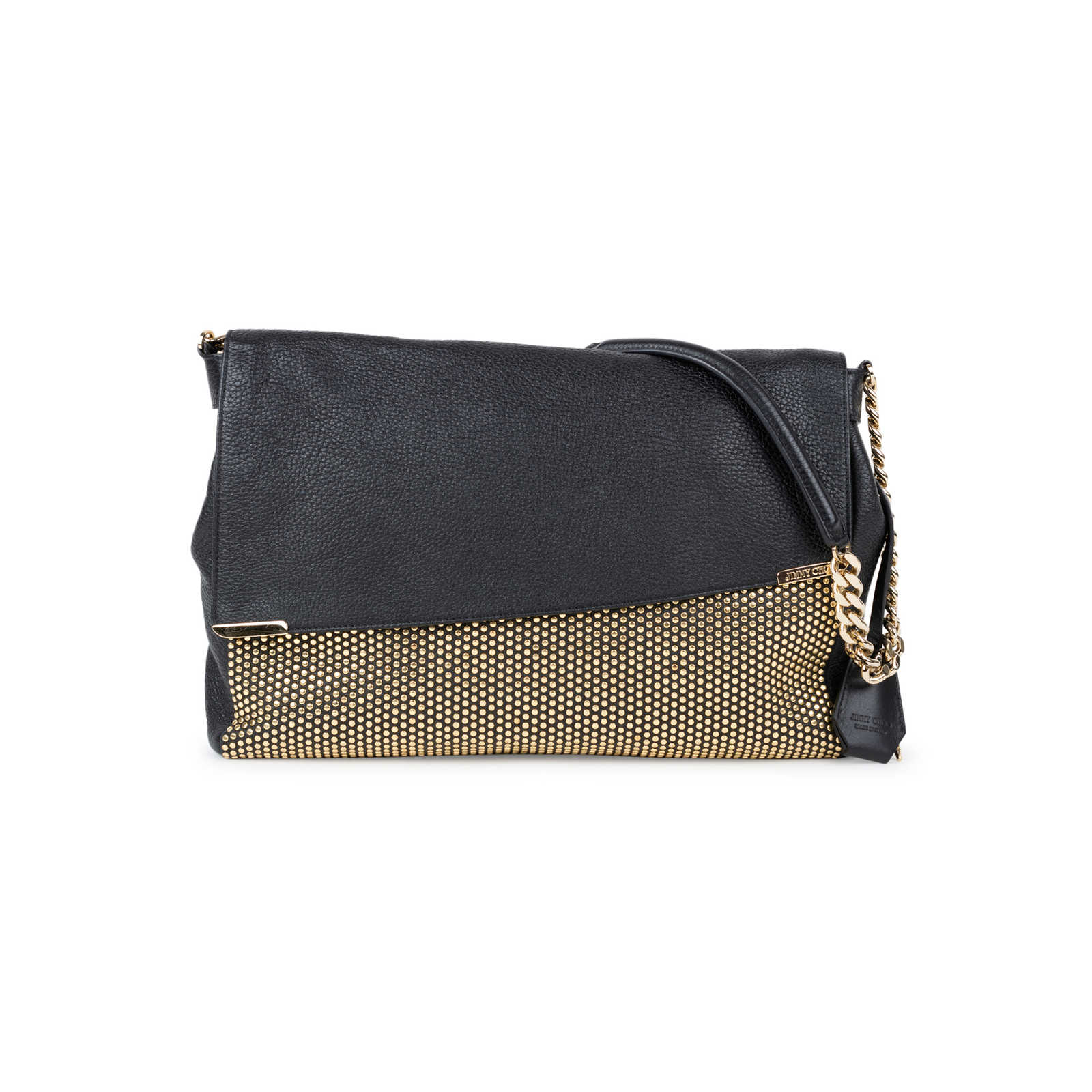 986938d79d0 Authentic Second Hand Jimmy Choo Ally Studded Shoulder Bag (PSS-557-00003)  ...