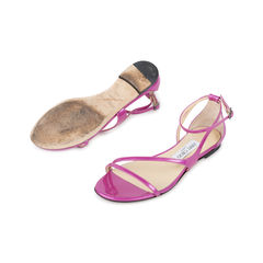 Jimmy choo strappy sandals purple 2?1538557888