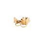 Authentic Pre Owned Butler and Wilson Flower And Butterfly Double Finger Ring (PSS-557-00026) - Thumbnail 1