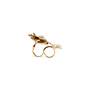 Authentic Pre Owned Butler and Wilson Flower And Butterfly Double Finger Ring (PSS-557-00026) - Thumbnail 2