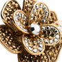 Authentic Pre Owned Butler and Wilson Flower And Butterfly Double Finger Ring (PSS-557-00026) - Thumbnail 3