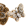 Authentic Pre Owned Butler and Wilson Flower And Butterfly Double Finger Ring (PSS-557-00026) - Thumbnail 4