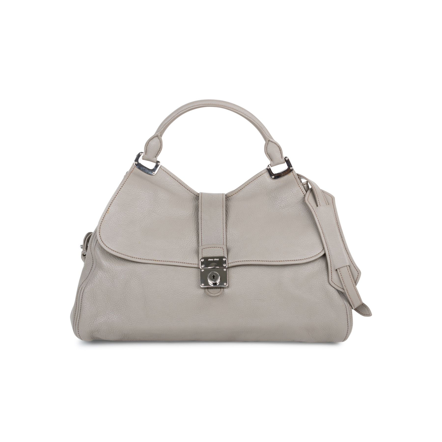 f2247e5a116d Authentic Second Hand Miu Miu Sacca 2 Manici Bag (PSS-558-00005 ...