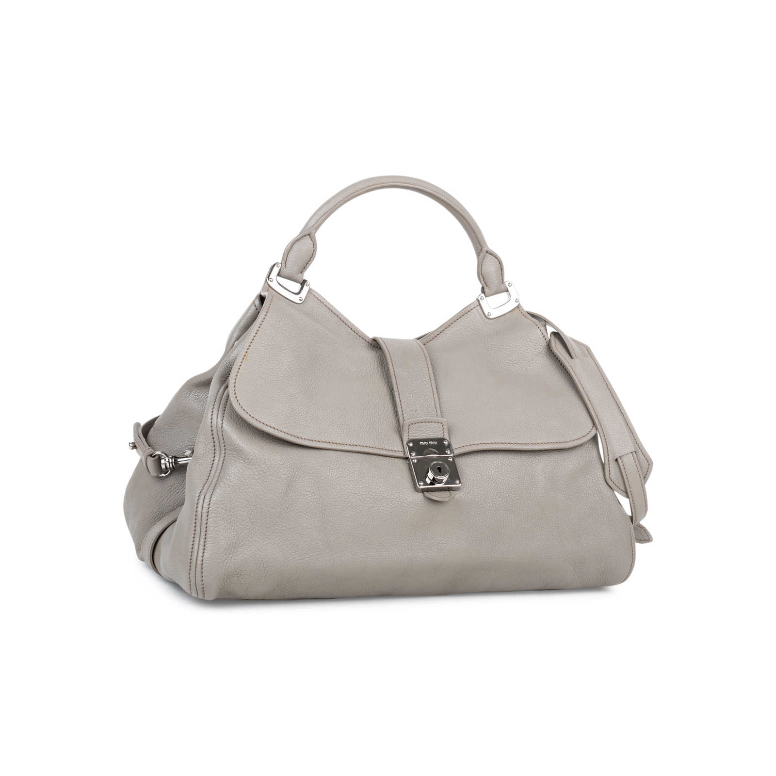 bfa1a4afd096 ... Authentic Second Hand Miu Miu Sacca 2 Manici Bag (PSS-558-00005) ...