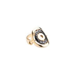 Bulgari cerchi shield ring metallic 2?1538712627