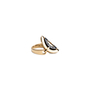 Authentic Pre Owned Bulgari Cerchi Shield Ring (PSS-557-00025) - Thumbnail 2