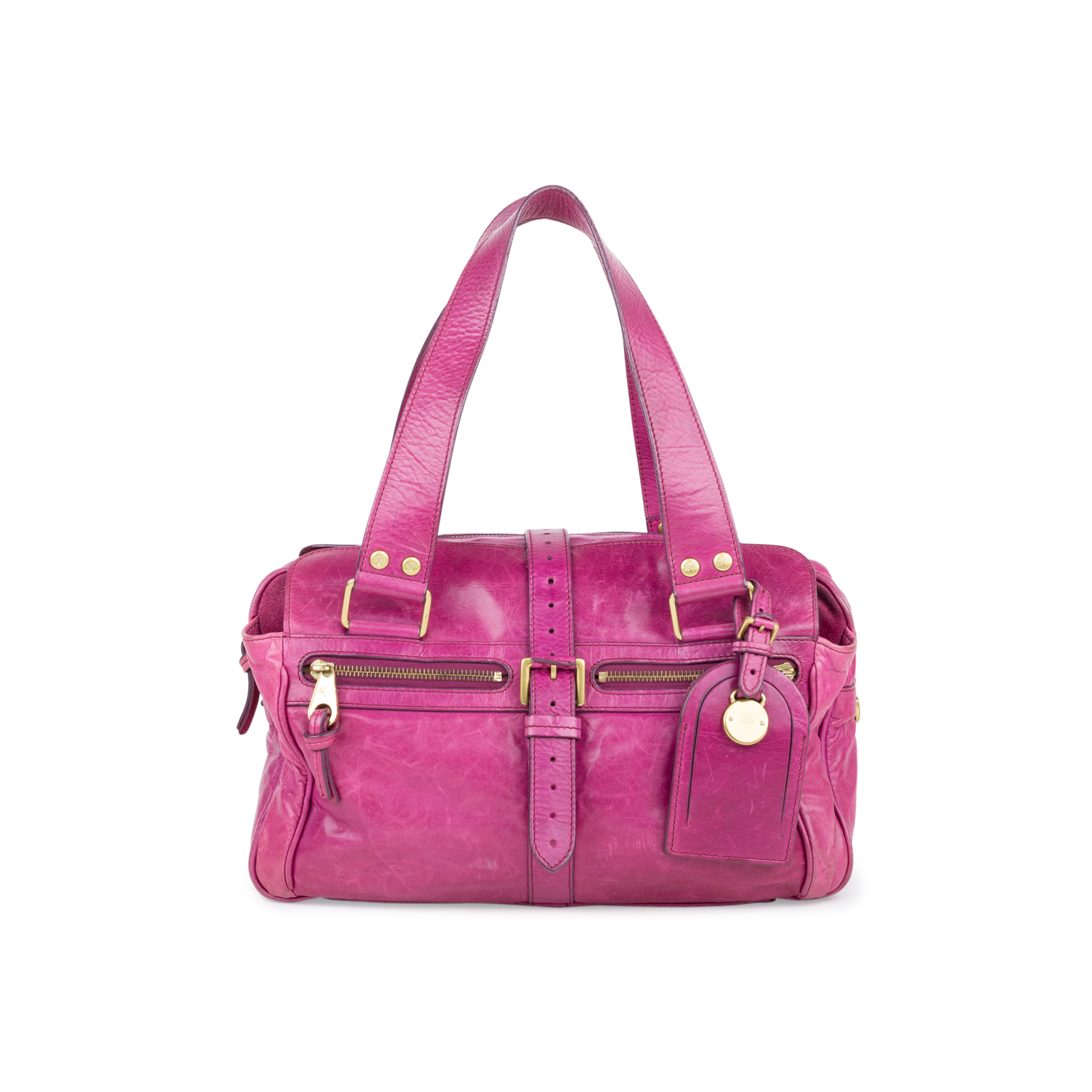 9b94365e44 Authentic Second Hand Mulberry Fuchsia Mabel Shoulder Bag (PSS-554-00008)
