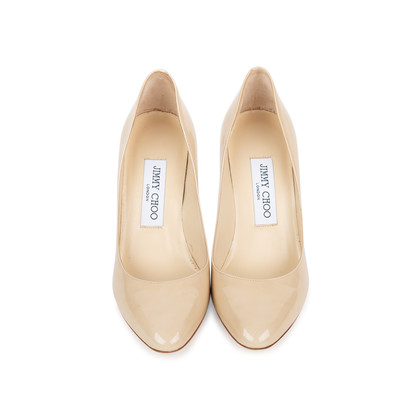 Authentic Second Hand Jimmy Choo Gilbert Patent Pumps (PSS-558-00012)