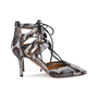 Authentic Second Hand Aquazzura Belgravia Elaphe Pointed Pumps (PSS-558-00016) - Thumbnail 1