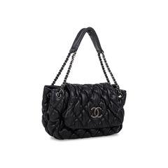 Chanel bubble quilt accordion flap bag 2?1538988071