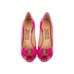 Patent Plum Pumps