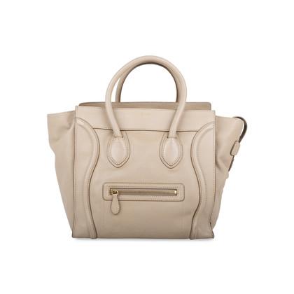 Authentic Second Hand Céline Dune Mini Luggage (PSS-566-00064)