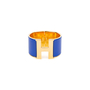 Authentic Pre Owned Hermès Clic H Extra Wide Bangle (PSS-566-00039) - Thumbnail 0
