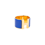 Authentic Pre Owned Hermès Clic H Extra Wide Bangle (PSS-566-00039) - Thumbnail 2