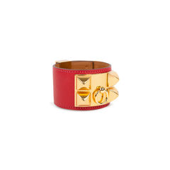 Hermes rouge casaque epsom collier de chien 2?1539066722