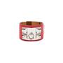 Authentic Pre Owned Hermès Rouge Casaque Palladium Epsom Collier de Chien (PSS-566-00044) - Thumbnail 0