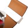 Authentic Pre Owned Hermès Rouge Casaque Palladium Epsom Collier de Chien (PSS-566-00044) - Thumbnail 6