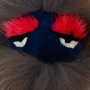 Authentic Pre Owned Fendi Bag Bugs Charm (red and blue face) (PSS-566-00004) - Thumbnail 2