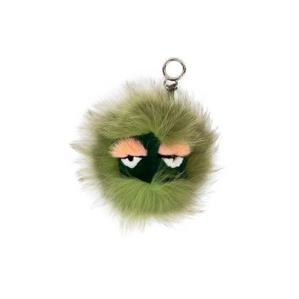 Authentic Pre Owned Fendi Kooky Bag Bugs Charm (PSS-566-00005)