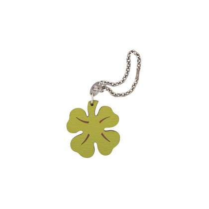 Authentic Pre Owned Hermès Lucky Clover Key Chain (PSS-566-00038)