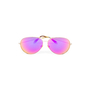 Authentic Second Hand Victoria Beckham Fuchsia Mirrored Classic Victoria Sunglasses (PSS-566-00060) - Thumbnail 0