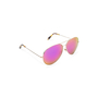 Authentic Second Hand Victoria Beckham Fuchsia Mirrored Classic Victoria Sunglasses (PSS-566-00060) - Thumbnail 1